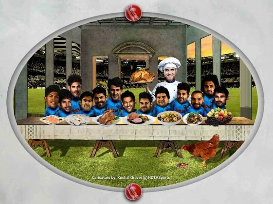 Team India Orders Butter Chicken, Rice for Lunch on Australia Tour