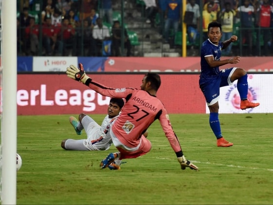 Indian Super League: Chennaiyin FC Crush Pune City FC to Go Top of Table