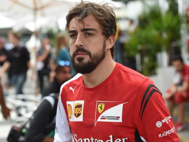 Fernando Alonso Ferrari McLaren