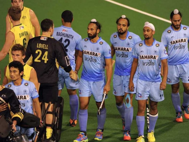 India Australia Hockey Test