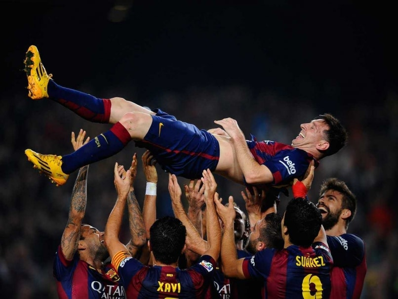 Lionel Messi Delighted with New La Liga Scoring Record
