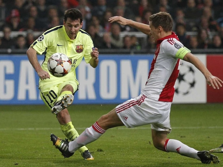 Lionel Messi vs Ajax