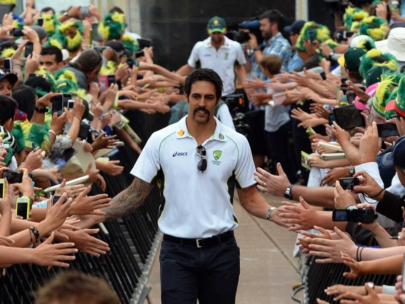 Mitchell Johnson Ashes honour