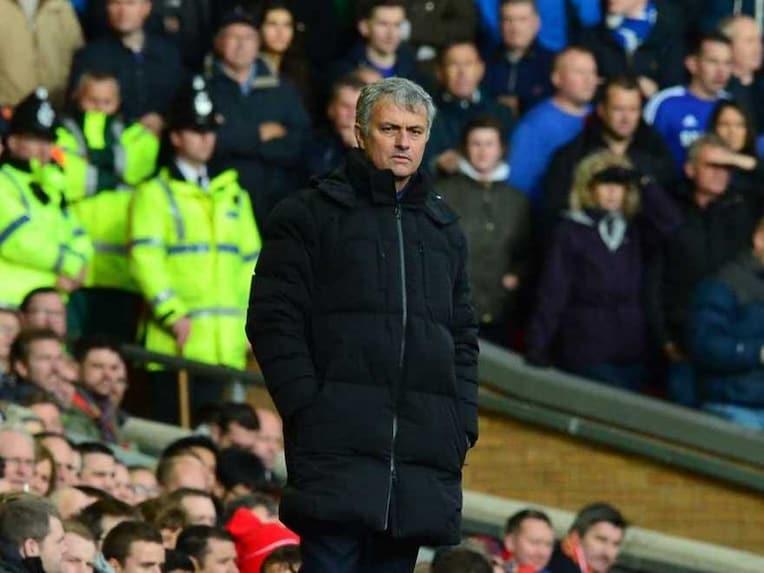 Mourinho vs Liverpool