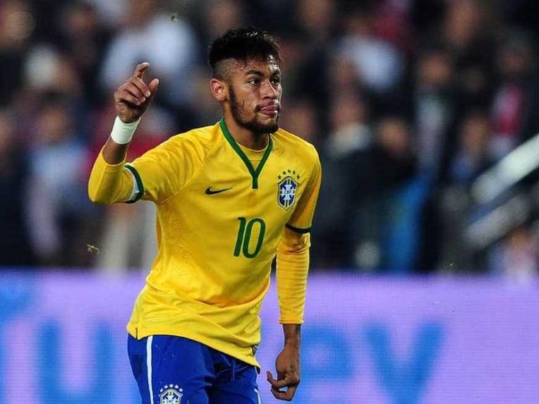 Neymar Brazil Friendly