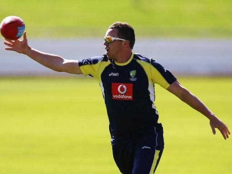Peter Siddle Aus India