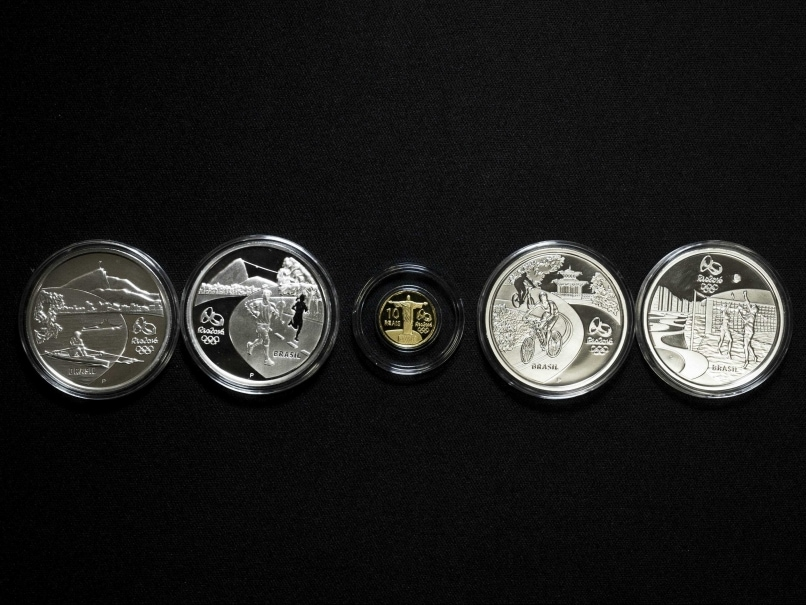 Rio Olympic Coins