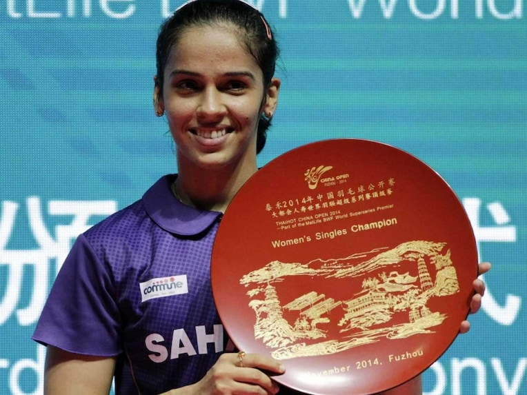 Saina China Open trophy