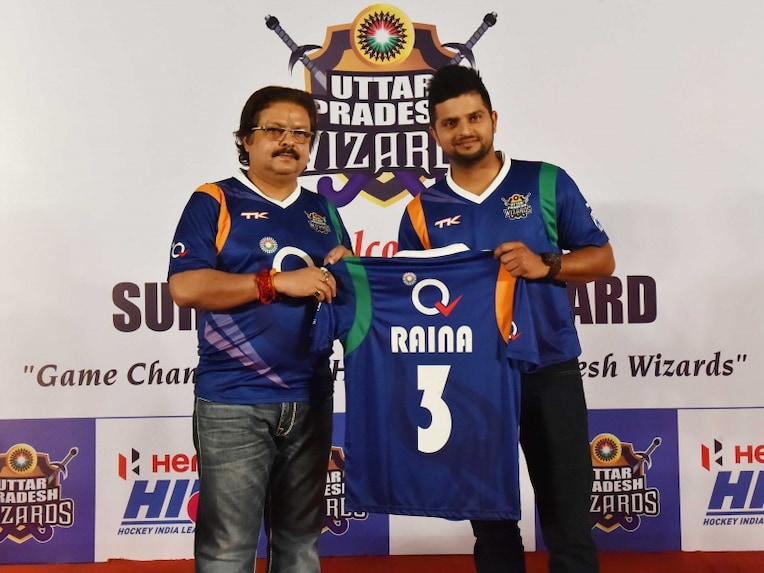 Suresh Raina UP Wizards