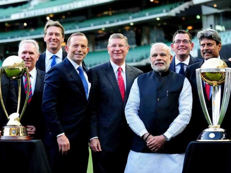 Tony Abbott Narendra Modi MCG