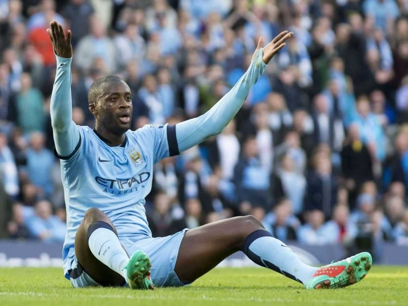 Yaya Toure Man City