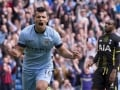 EPL: Aguero Hits Four as Man City Survive Penalty Drama to Rout Spurs