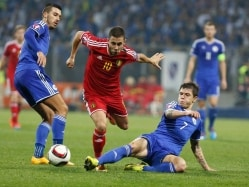 Euro 2016 Qualifier: Belgium Escape With Draw, Wales Cruise