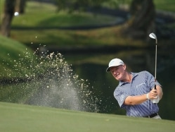 Ernie Els Curses Long-Running Hip Problem