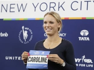 Caroline Wozniacki Confident She Can Finish New York City Marathon