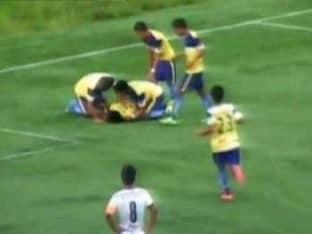 Indian footballer dies1