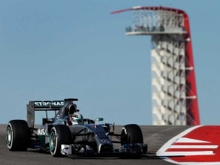 US Grand Prix: Lewis Hamilton Tops First Practice