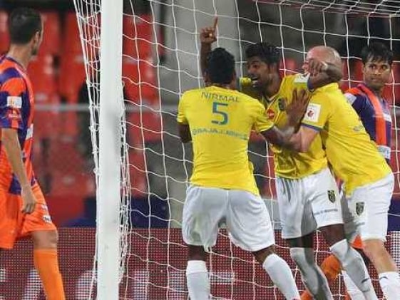 Indian Super League: Kerala Blasters Down FC Pune City 2-1, Register First Win of Tournament