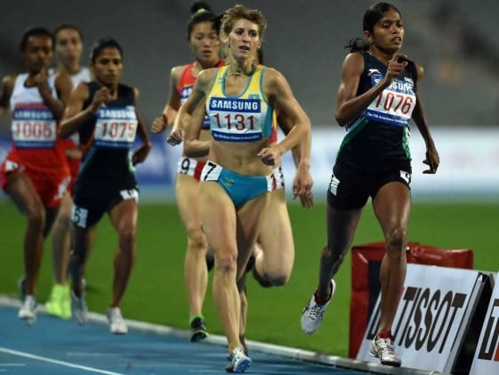Olympics Bound Tintu Luka Wins 800m Gold in National Athletics