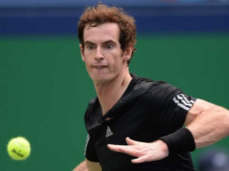 Andy Murray AFP Vienna