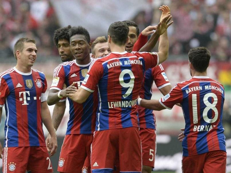 Bayern celebration pix
