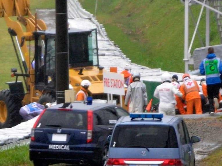 Bianchi crash site