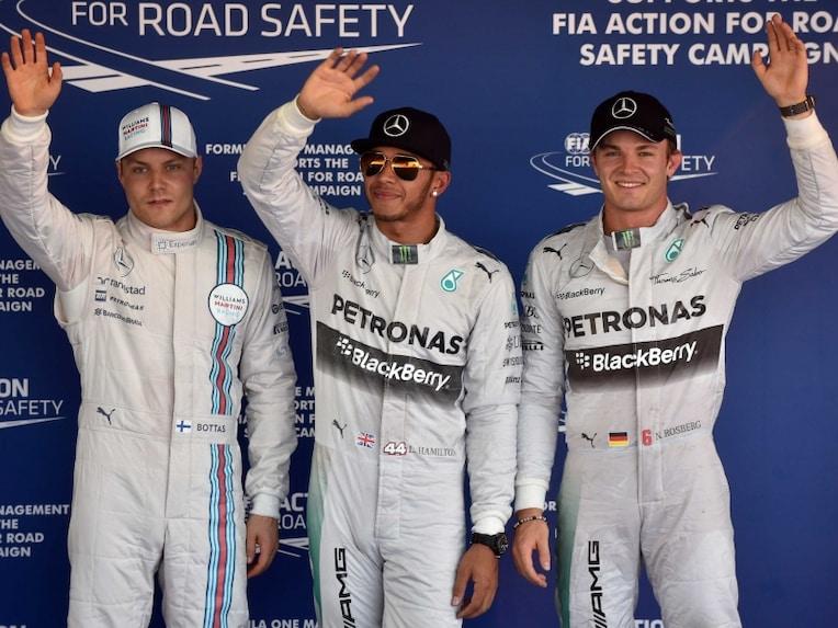 Bottas Hamilton Rosberg