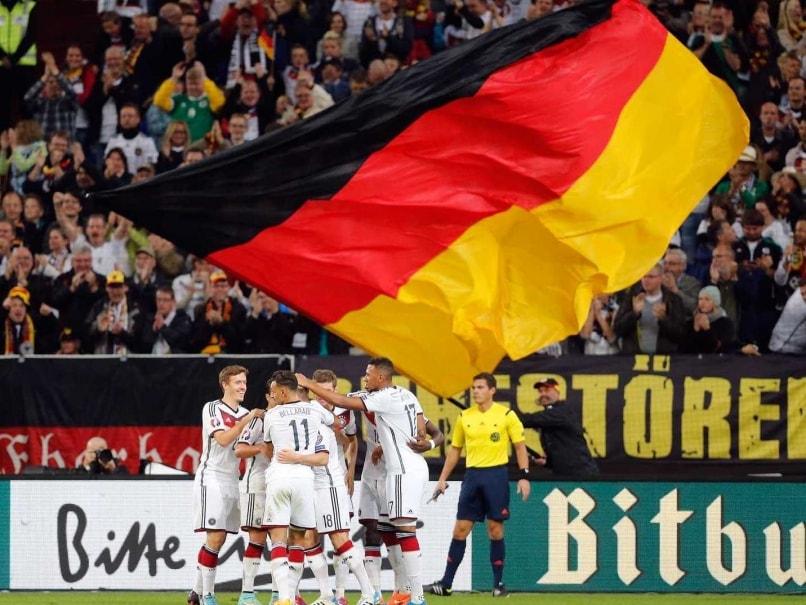 Germany football flag