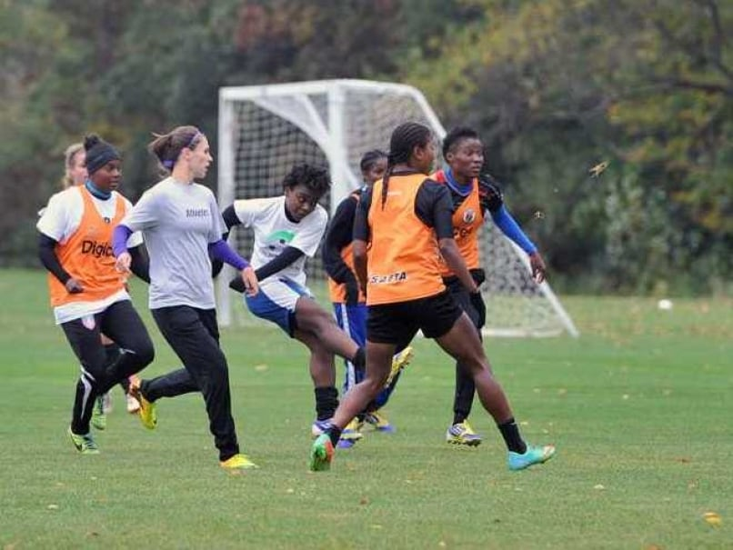 Haiti Women Soccer