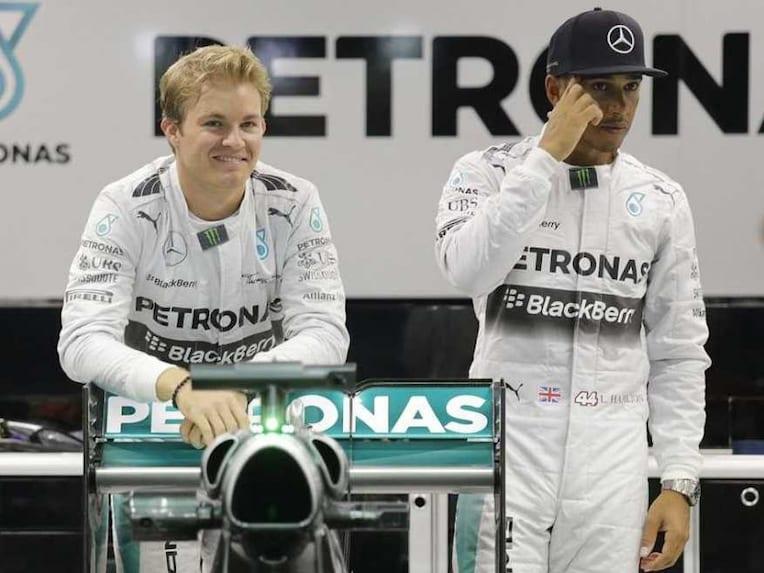Hamilton Rosberg Fightback