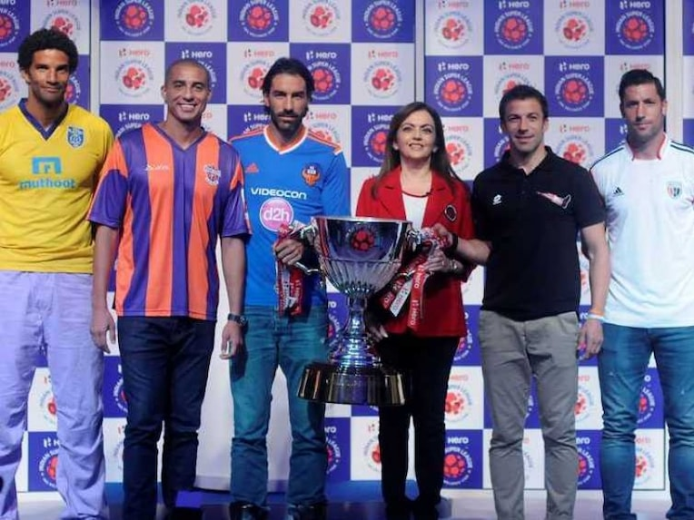 ISL trophy launch
