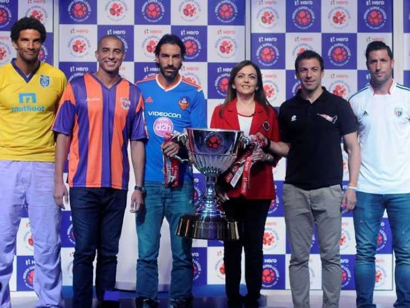 ISL trophy launch