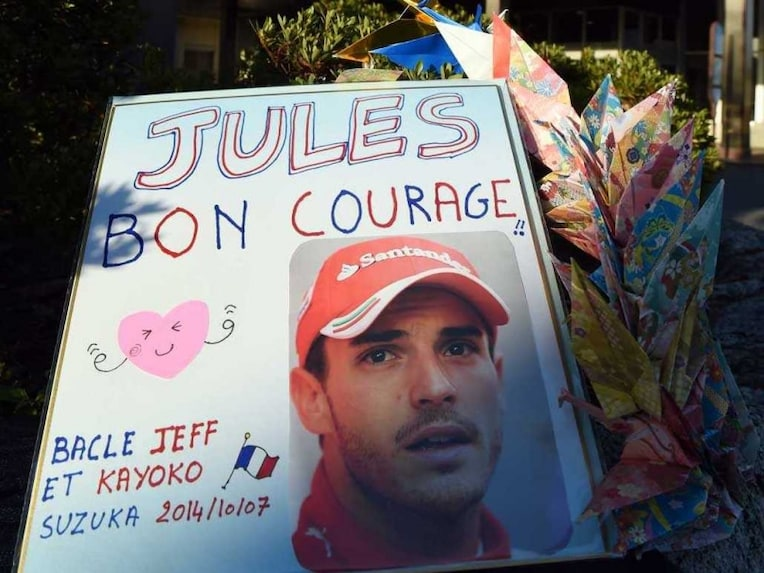 Jules Bianchi wishes