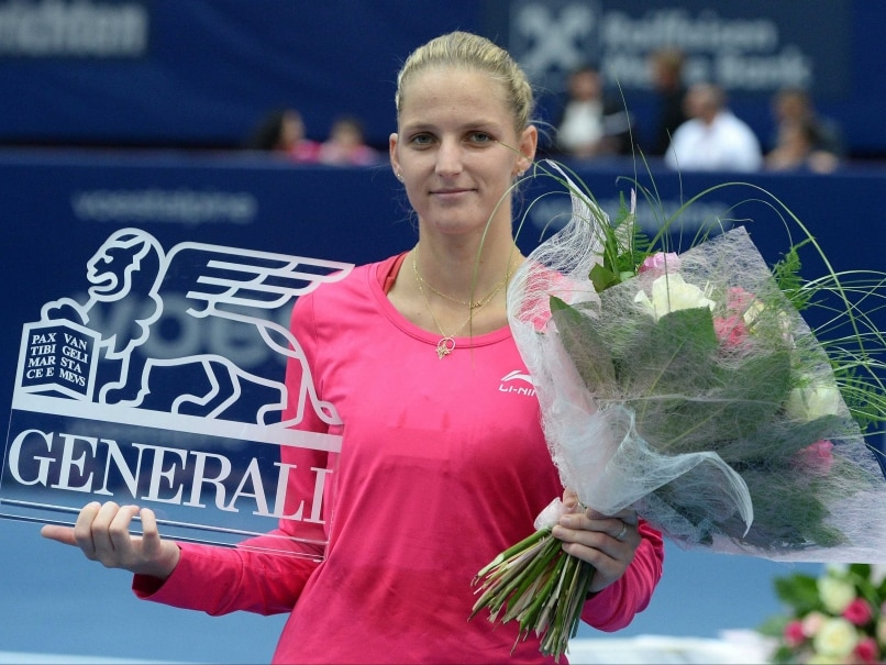 Karolina Pliskova Karolina Pliskova Saves Match