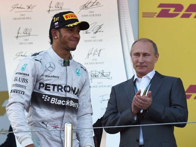 Lewis Hamilton Vladimir Putin