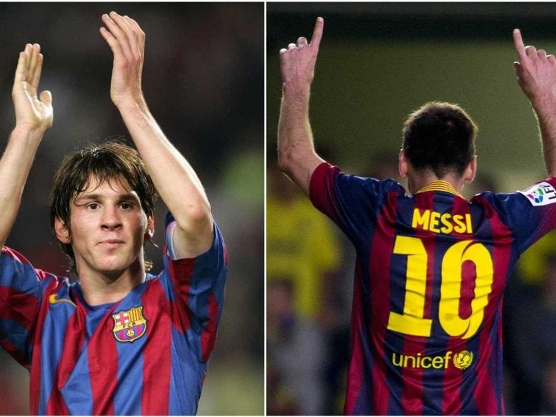 Lionel Messi barcelona-split