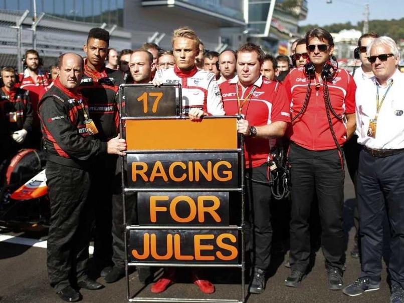 Marussia Bianchi report