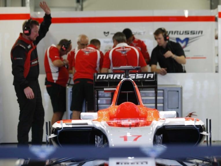 Marussia Jules Biachi car