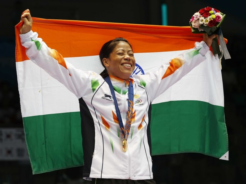 Mary Kom Flag