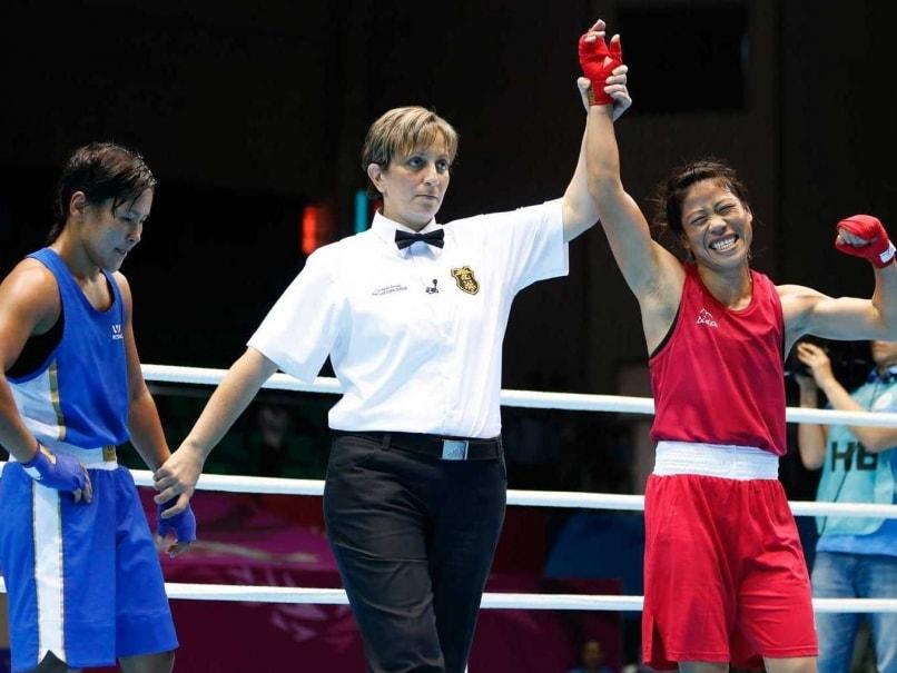 Mary Kom win