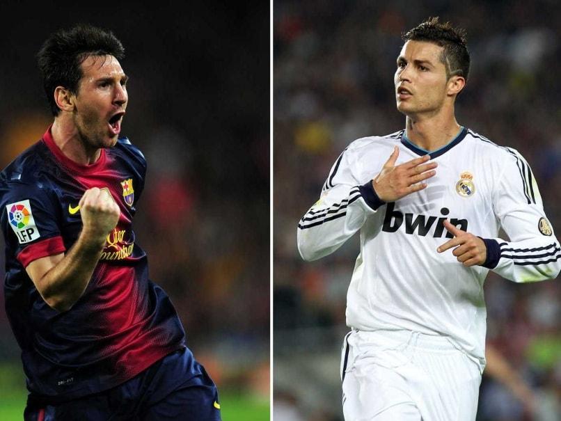 Messi Ronaldo split Messi Vs Cristiano Ronaldo Trophies