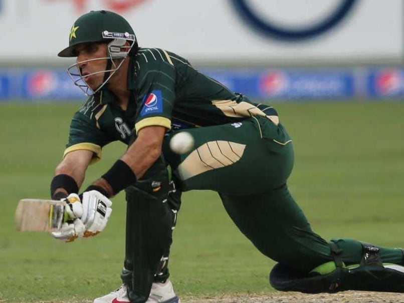 Misbah Pakistan ODI