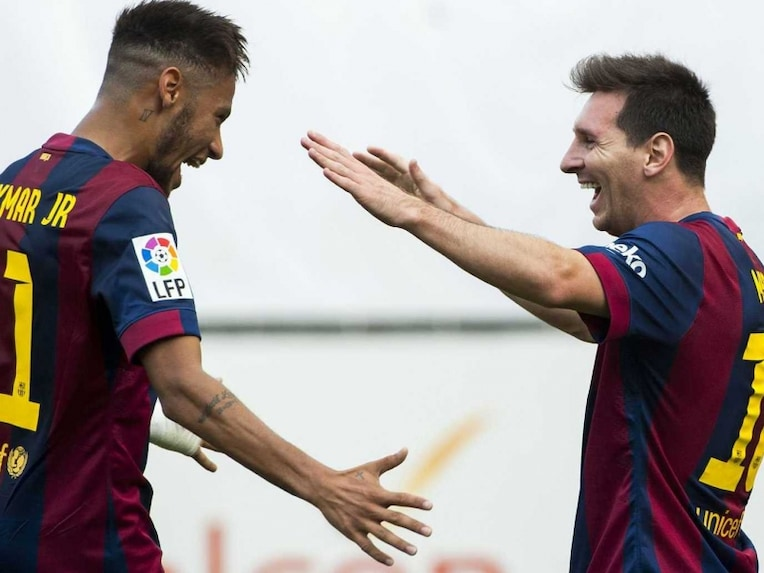 Neymar-Messi Barcelona