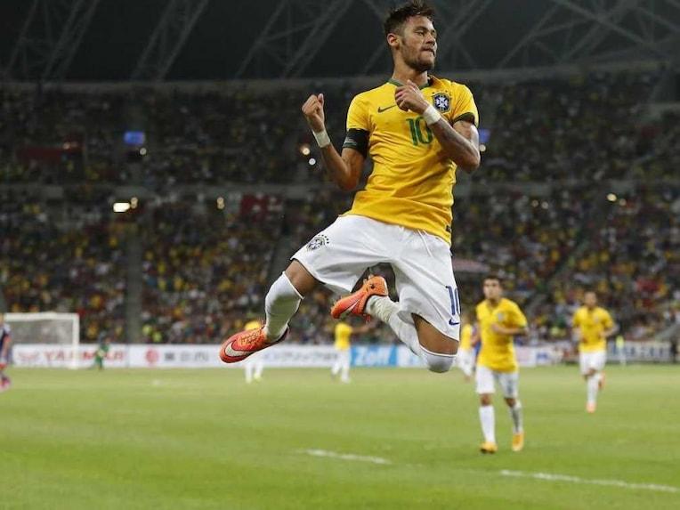 Neymar vs Japan 14