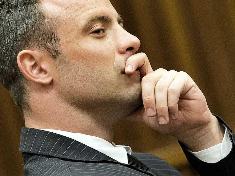 Pistorius tears verdict