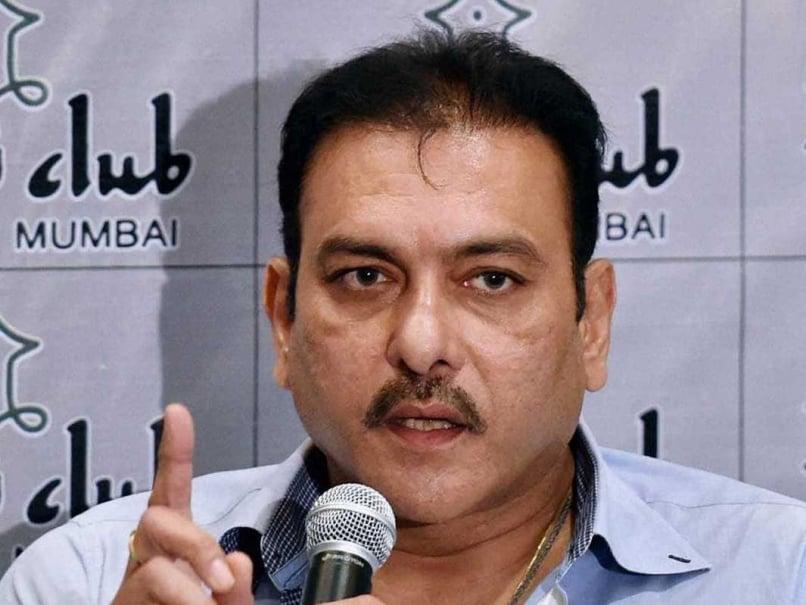 Ravi Shastri presser