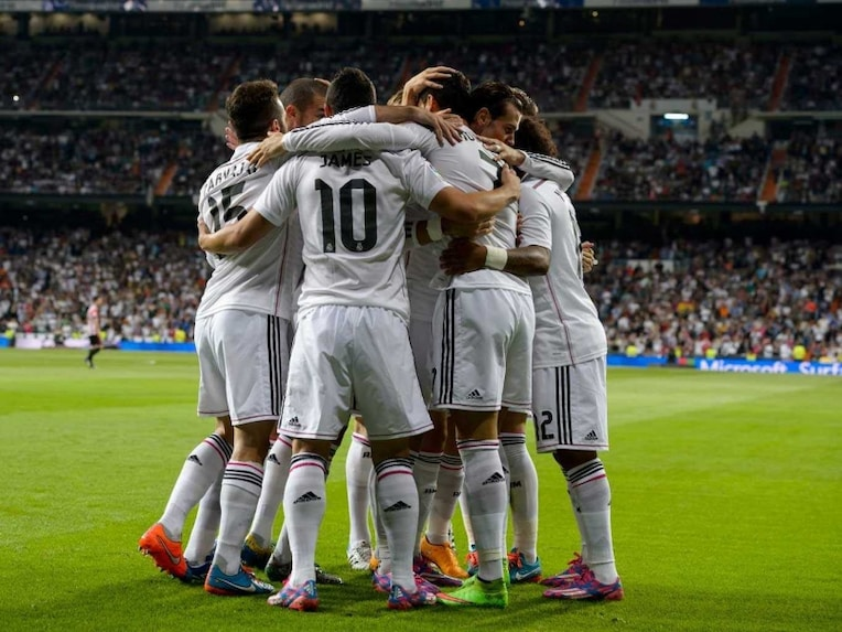 Real Madrid team 5