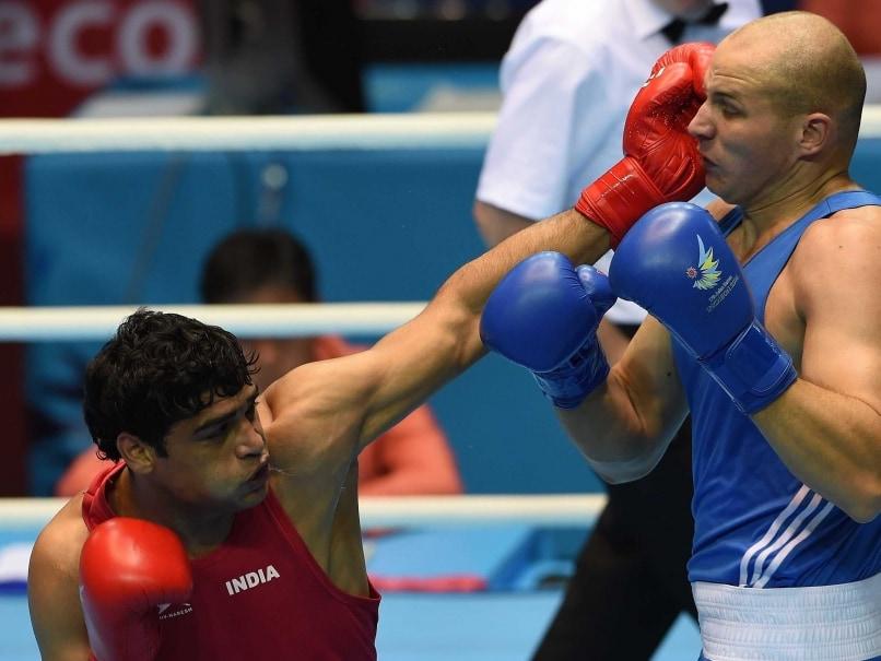 Satish Kumar boxing