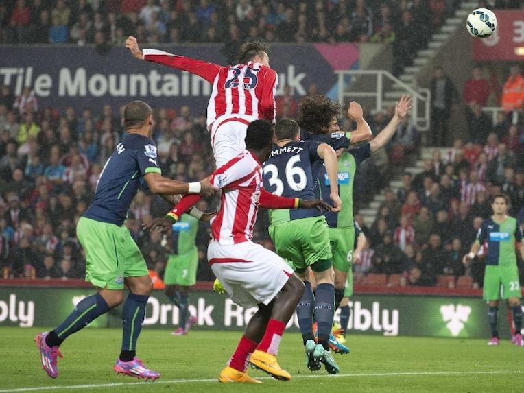 Live Score: Stoke City vs Newcastle United
