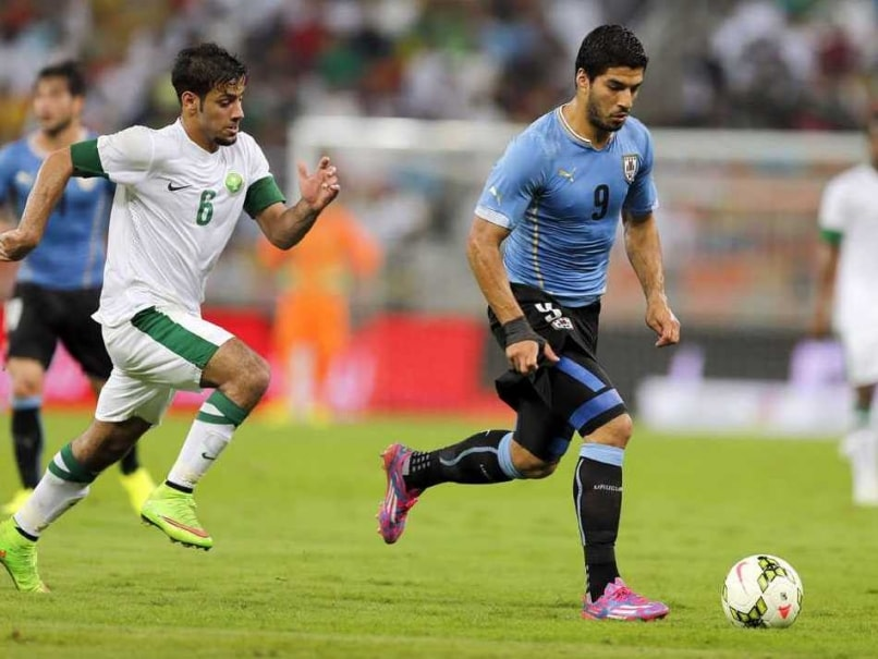 Suarez Uruguay Saudi Arabia